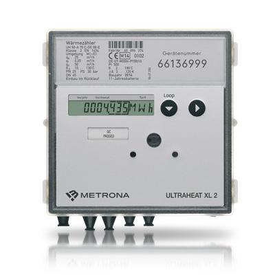 Wärme-/Kältezähler ULTRAHEAT XL 2 speziell für vielfältige Anforderungen der Wärme- und Kältemessung