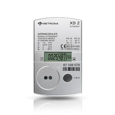 Kompakt-Wärme-/Kältezähler ULTRAHEAT XS 2 speziell für Anforderungen der Wohnungswirtschaft0